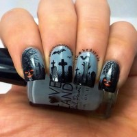 Nail Polish Ideas for Halloween  40 inspiring nail design ...