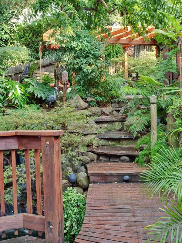 Landscaping – 15 Ideas For Tropical Retreat In Your Garden