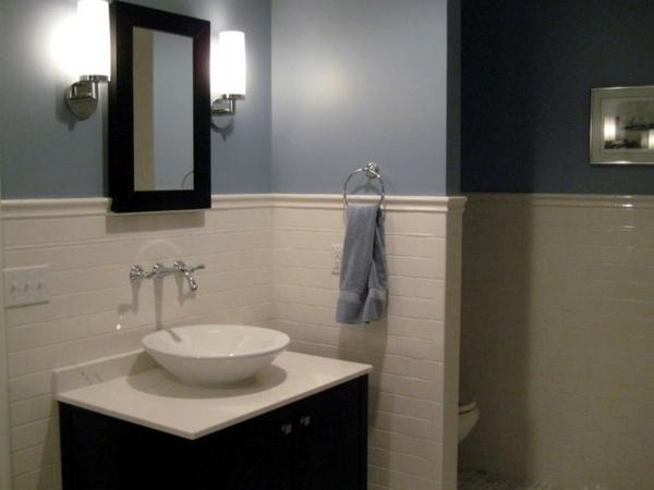 Bathroom wall color  fresh ideas for small spaces  Interior Design Ideas  AVSOORG