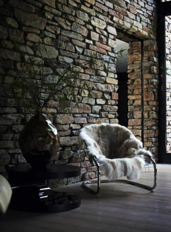 Cheap wall covering with artificial stone  Interior Design Ideas  AVSOORG