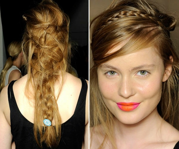 Prom Hairstyles – Of Curls On Ponytails To Braids Interior