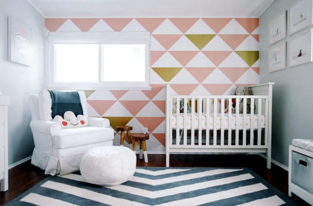 simple clean living room design decoration furniture elegant kids with pastel colors and animal ...