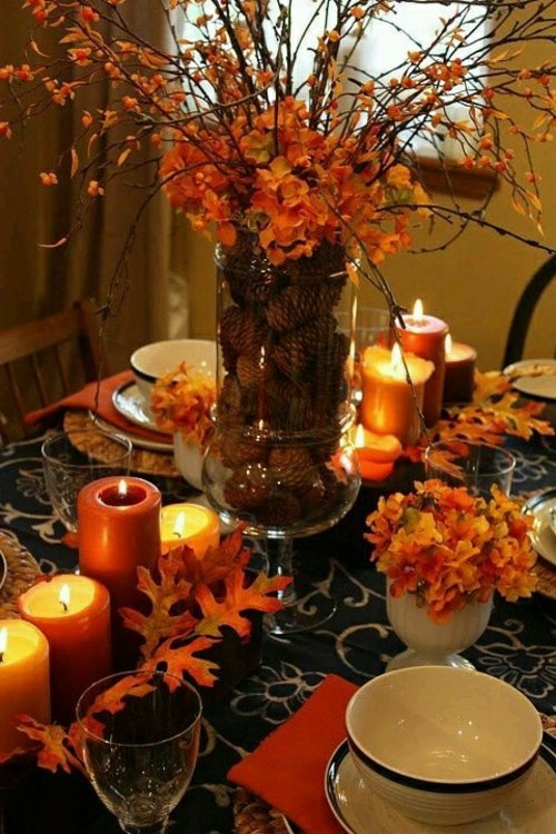 30 cool ideas for table decoration in