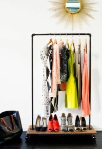 Build coat rack itself  25 DIY Coat Rack