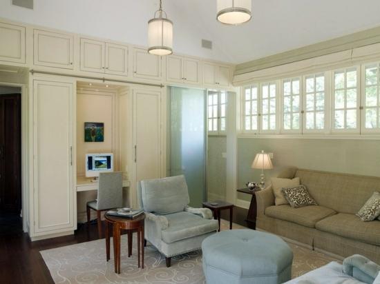 office area in living room | Gopelling.net