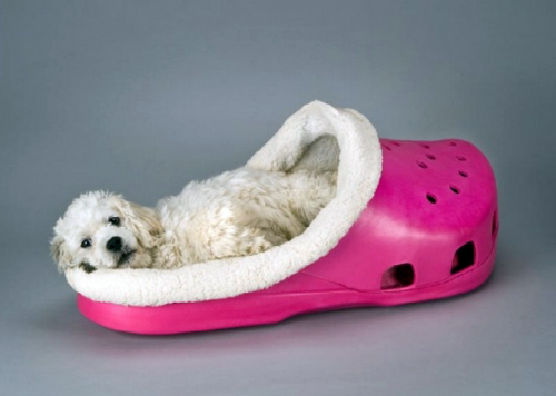 Cool dog bed in shape of a shoe  Interior Design Ideas
