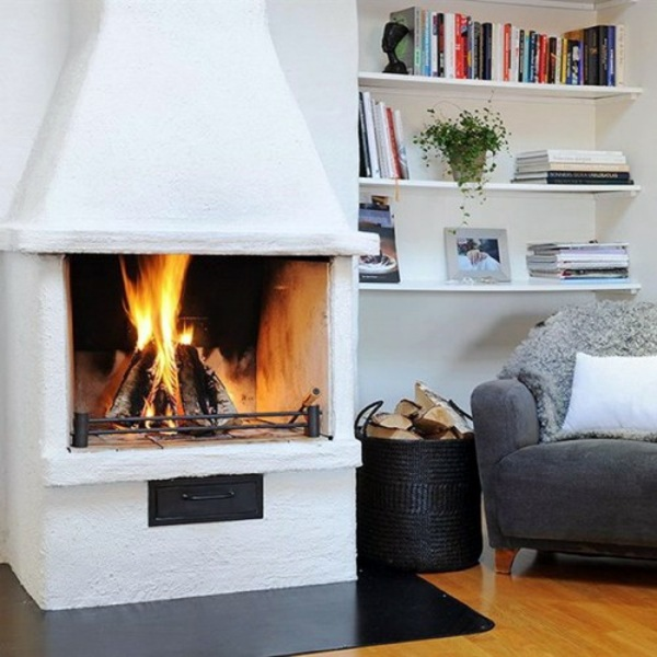 35 Ideas for scandinavian fireplaces  Interior Design Ideas  AVSOORG