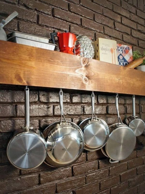Hanging Pots And Pans Interior Design Ideas