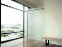 Sliding doors as room dividers  more privacy in the small ...