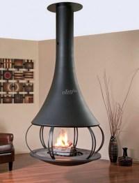 Hanging Stove  Modern Luxury Fireplaces   Interior Design ...