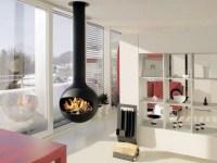 Hanging Stove  Modern Luxury Fireplaces | Interior Design ...