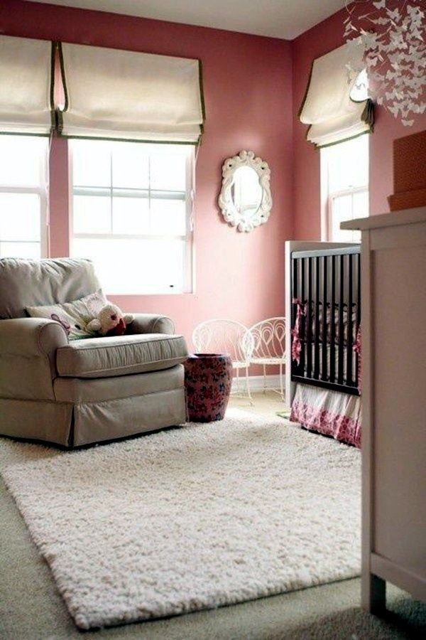 Add A Touch Of Romance In The Interior Dusky Pink Wall Color Interior Design Ideas Avso Org