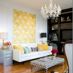 How Can I Decorate My Living Room Wall Flooring Ideas India Design Cool Examples Of Wallpaper Pattern Tapestry With Floral Decoration As An Alternative