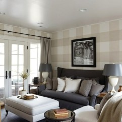 Living Room Wall Designs Ideas Modern Sofa For Small Design Cool Examples Of Wallpaper Pattern Striped Beige