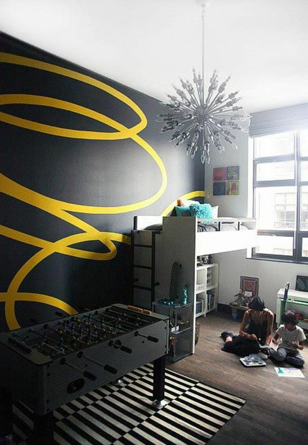 Wall painting kids  great interior ideas