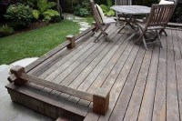 17 tips for wood flooring in the garden or on the terrace ...