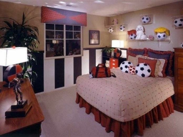 Image result for football design to room