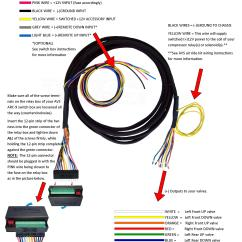 Avs Switch Box Wiring Diagram 91 Nissan 240sx Valve Harness 10', 15', 20' - Universal To 9-switch