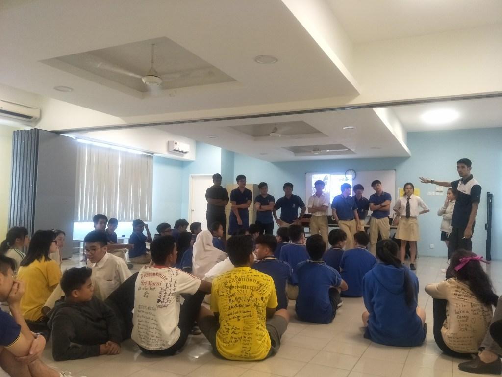 Career talk at Beaconhouse Sri Murni National School
