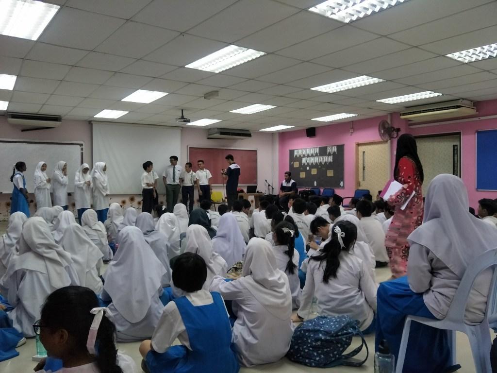 Career talk at SMK SERI BINTANG UTARA