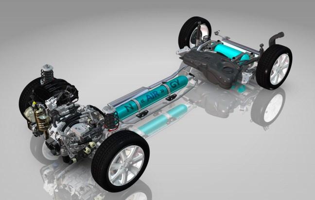 HYbrid Air: stisnjen zrak namesto elektrike v hibridnem pogonu.