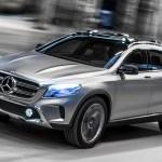 Mercedes-Benz Concept GLA: sveže oblikovalske ideje
