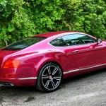 Bentley Continental GTC V8 in Mulsanne
