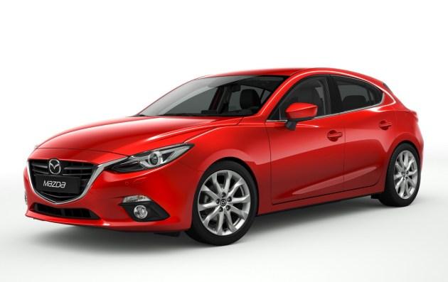 Mazda3: čedna, a tudi aerodinamična – s količnikom upora zraka 0,275.