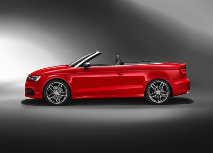 Audi S3 cabriolet: najboljša tehnika te hiše za to velikost avtomobila.