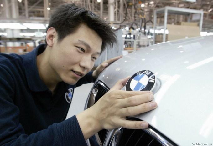 BMW velja na Kitajskem za eno najbolj spoštovanih avtomobilskih imen.