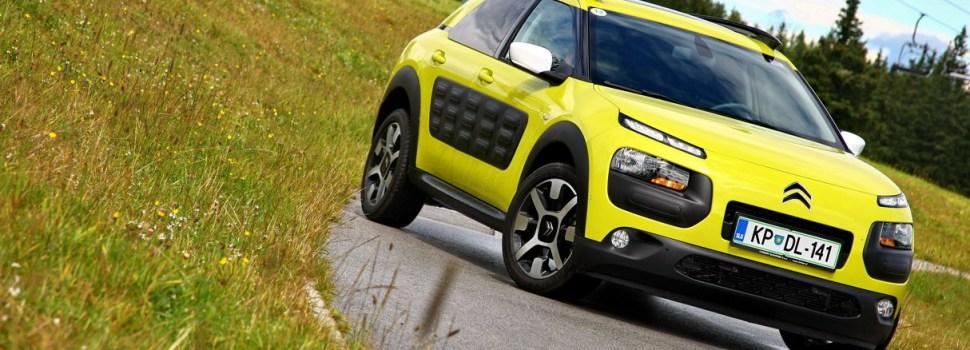 Citroën C4 Cactus: uradno naprodaj v Sloveniji
