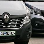 Renault Trafic (in prenovljeni Master): na slovenskem trgu