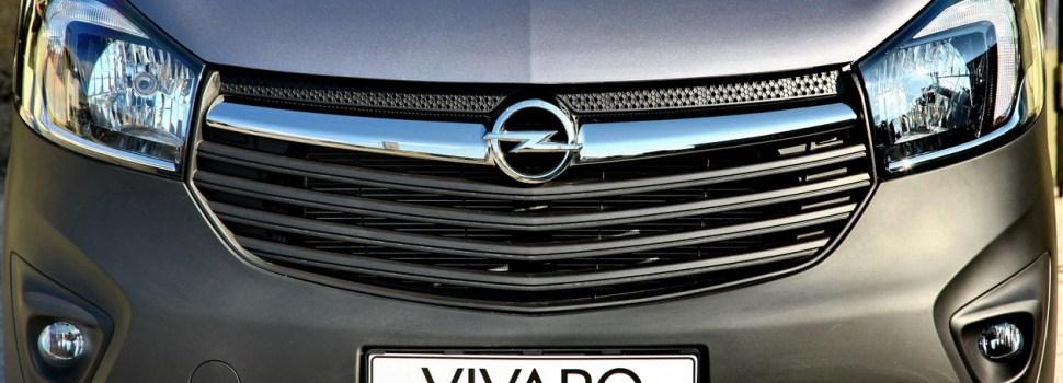 Opel Vivaro: napoved prodaje v Sloveniji