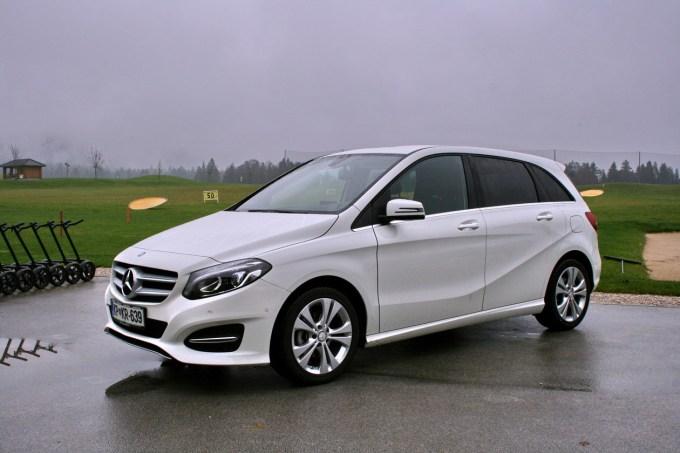 Mercedes-Benz B: previdno prenovljena ali drugačna zunanjost in tudi notranjost.