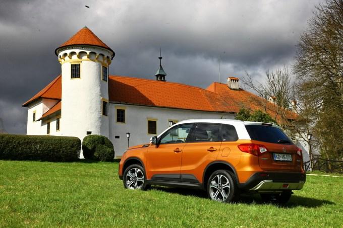 Suzuki Vitara: na voljo le v 5-vratni karoserijski izvedbi, prihaja pa s proizvodnih trakov na Madžarskem.