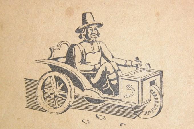 Hibrid na nožni pogon in spiralno vzmet; vir: Albert Struna, Avtomobil