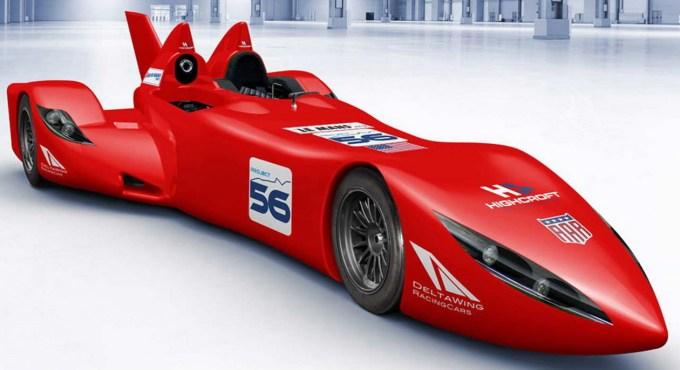 AAR Delta Wing, ki je kasneje postal Nissanov dirkalnik za Le Mans leta 2012.