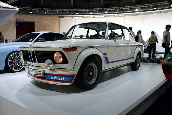 BMW 2002 Turbo. Leto 1973.
