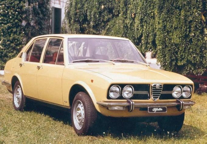 Alfa Romeo Alfetta 1.8, letnik 1972. Krasen kos.