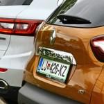 Renault Koleos in prenovljeni Captur: na slovenskem trgu