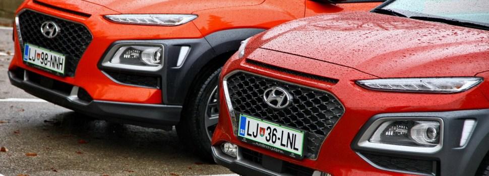 Hyundai Kona: na slovenskem trgu