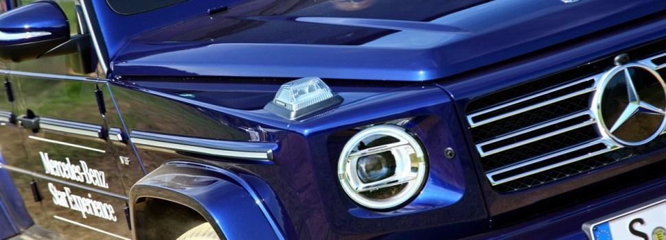 Mercedes-Benz G: na slovenskem trgu