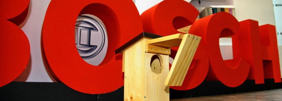 Bosch: projekt ptičjih hišic odslej na spletu v živo