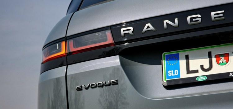 Range Rover Evoque: na slovenskem trgu