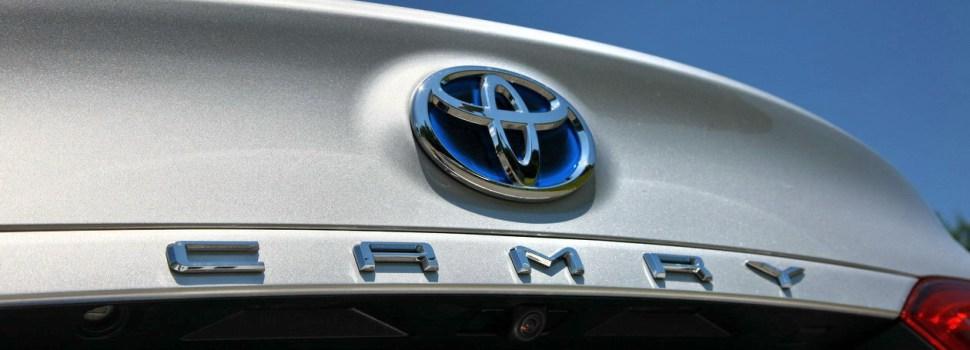Toyota Camry: na slovenskem trgu