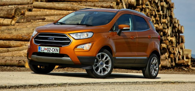 Ford EcoSport 1.0 EcoBoost 92 kW Titanium