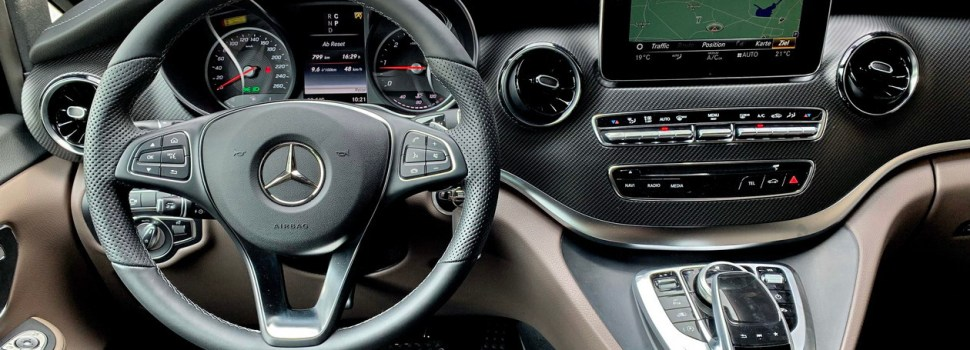 Mercedes-Benz V: prenovljen na slovenskem trgu
