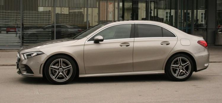 Mercedes-Benz razred A Sedan in prenovljeni GLC/GLC Coupé: na slovenskem trgu