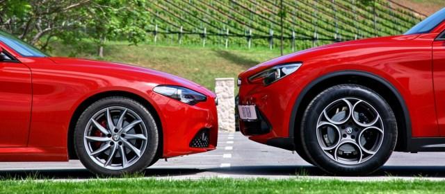 Alfa Romeo Stelvio in Giulia