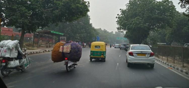 Slovenski voznik v New Delhiju